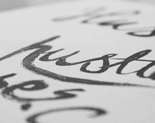 Caneta de caligrafia rotulação da mão lu