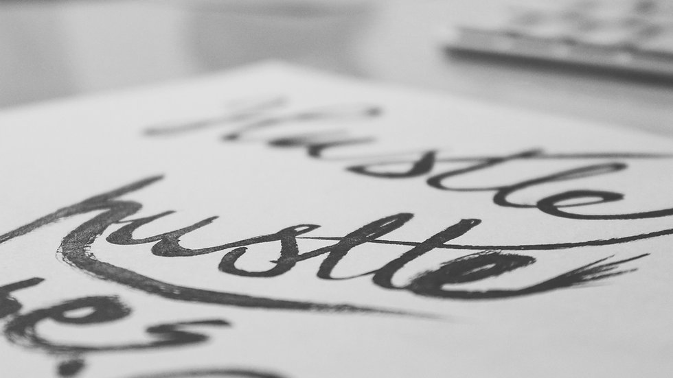 Hand Lettered Typography & Calligraphy, July 20-23, ages 8-14