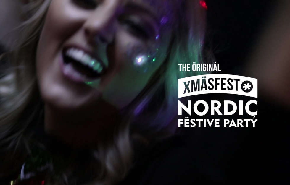 The festive extravaganza known as 'Xmäsfest - The Original & Best Nordic Christmas Party'