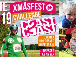 Coast 2 Coast Wheelie Bin Challenge