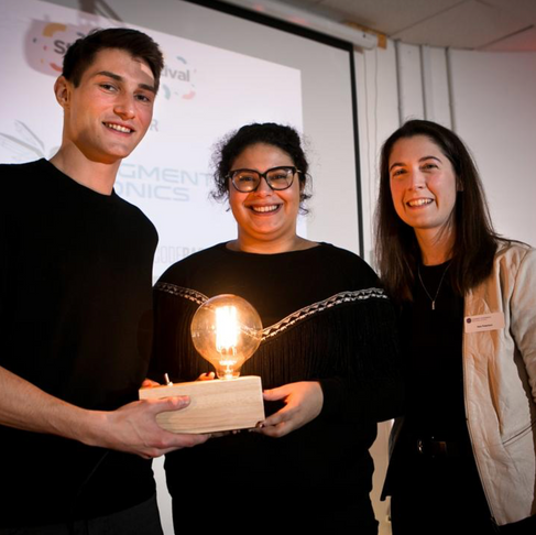 Augment Bionics wins 1st place at Start-up festival pitching competition