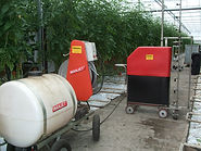 S55 Spray Robot and HP300