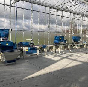 Lambda Drum Seeding Line