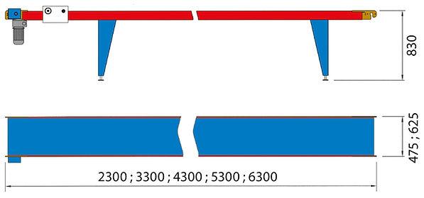 Manual Transplanting Conveyor