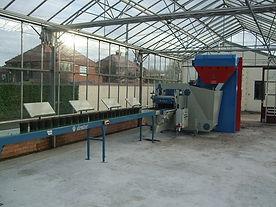 Manunal Transplanting conveyor