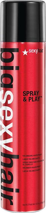 Spray and Play Volumizing Hairspray