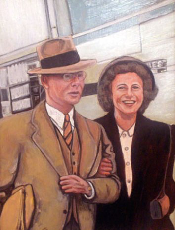 Victor Rees Tomlinson and His Bride