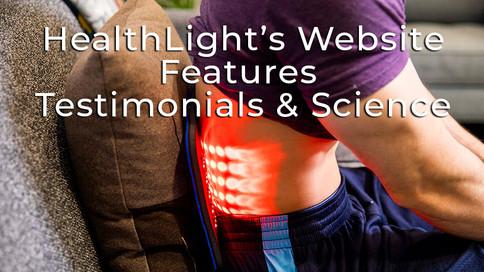 HealthLight's New Website