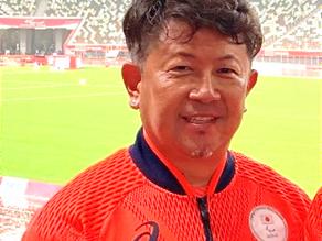 福田先生が2020東京パラリンピックにコーチとして参加しました