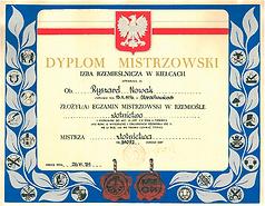 Mistrz-Zlotnictwa-Dyplom-Ryszard-Nowak-8