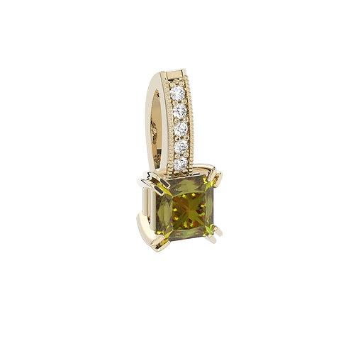Zawieszka - kolekcja Csarite z diamentami - princess cut