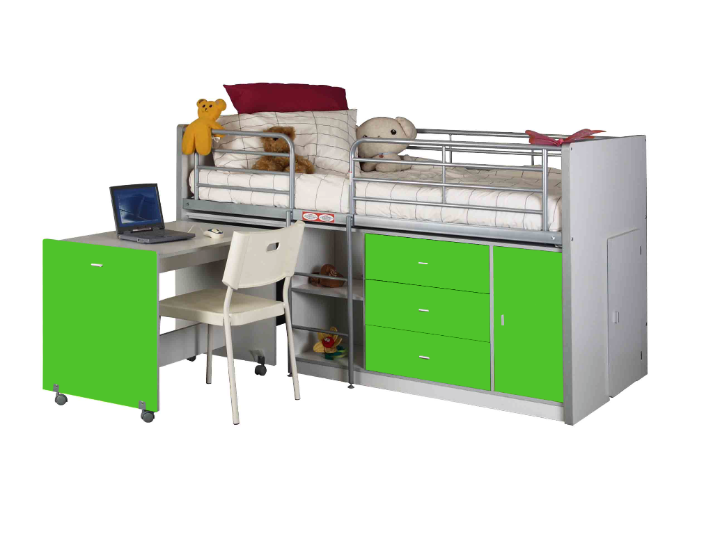 Loft Cabin Bed - Apple