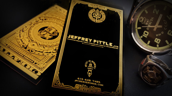 Jeffrey Pittle - New Business Card