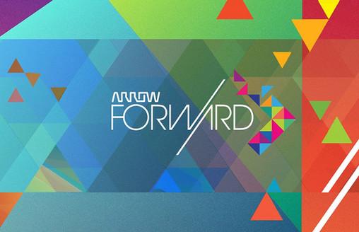 "Arrow ""Forward"" logo/theming"