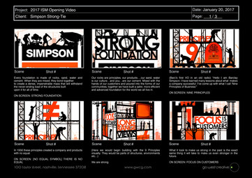 "Simpson Strong Tie - ""Strong Foundation"" Animation"