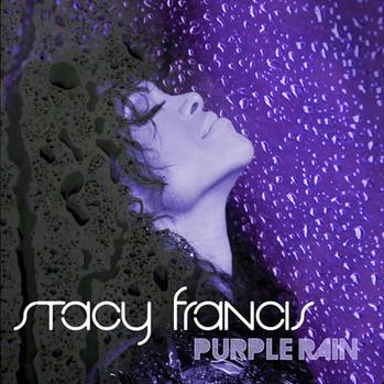 "Stacy Francis - album cover ""Purple Rain"""