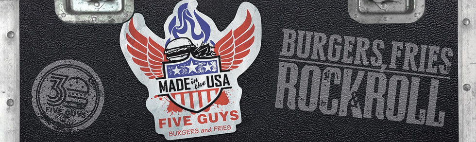 """Five Guys 2016 - """"Burgers, Fries And Rock & Roll"""""""