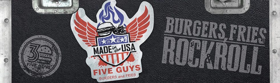 "Five Guys 2016 - ""Burgers, Fries And Rock & Roll"""
