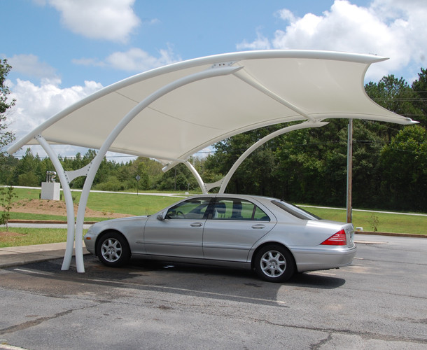 Tensile Shed For Car Parking