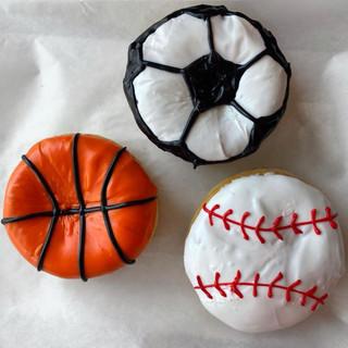 Sports Balls: Soccer, Basketball and Baseball