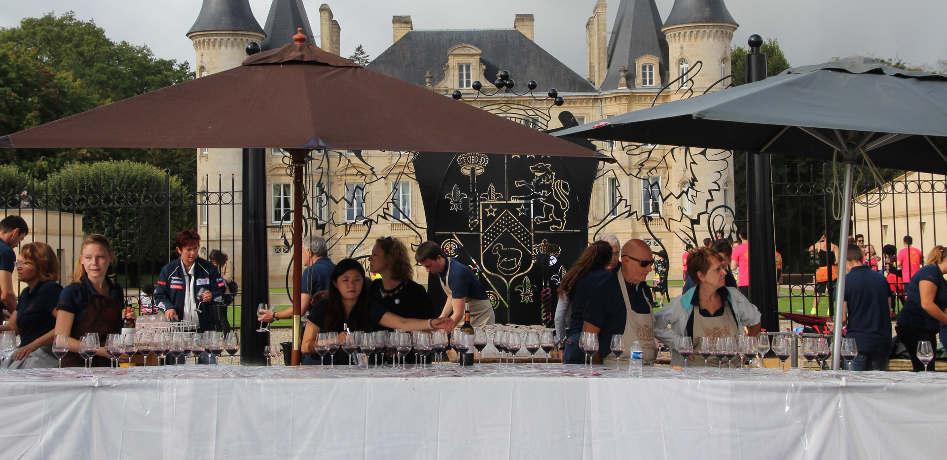 Drinks Station - Marathon du Medoc