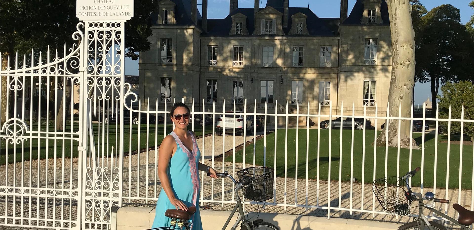 Chateau Pichon Comtesse - Cycling
