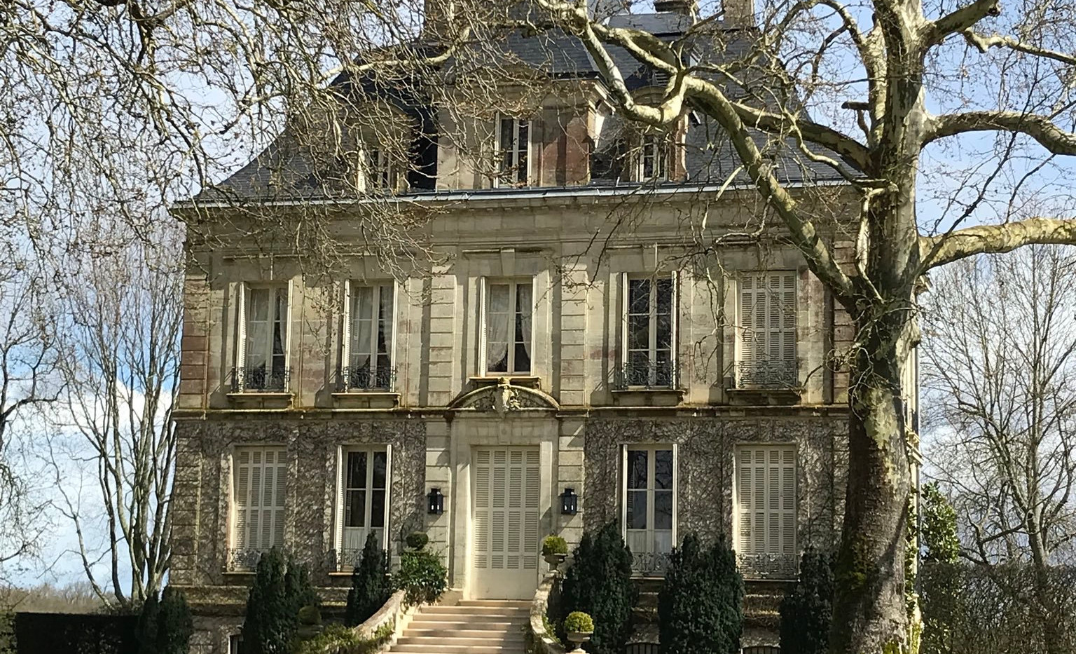 Chateau Latour Frontage