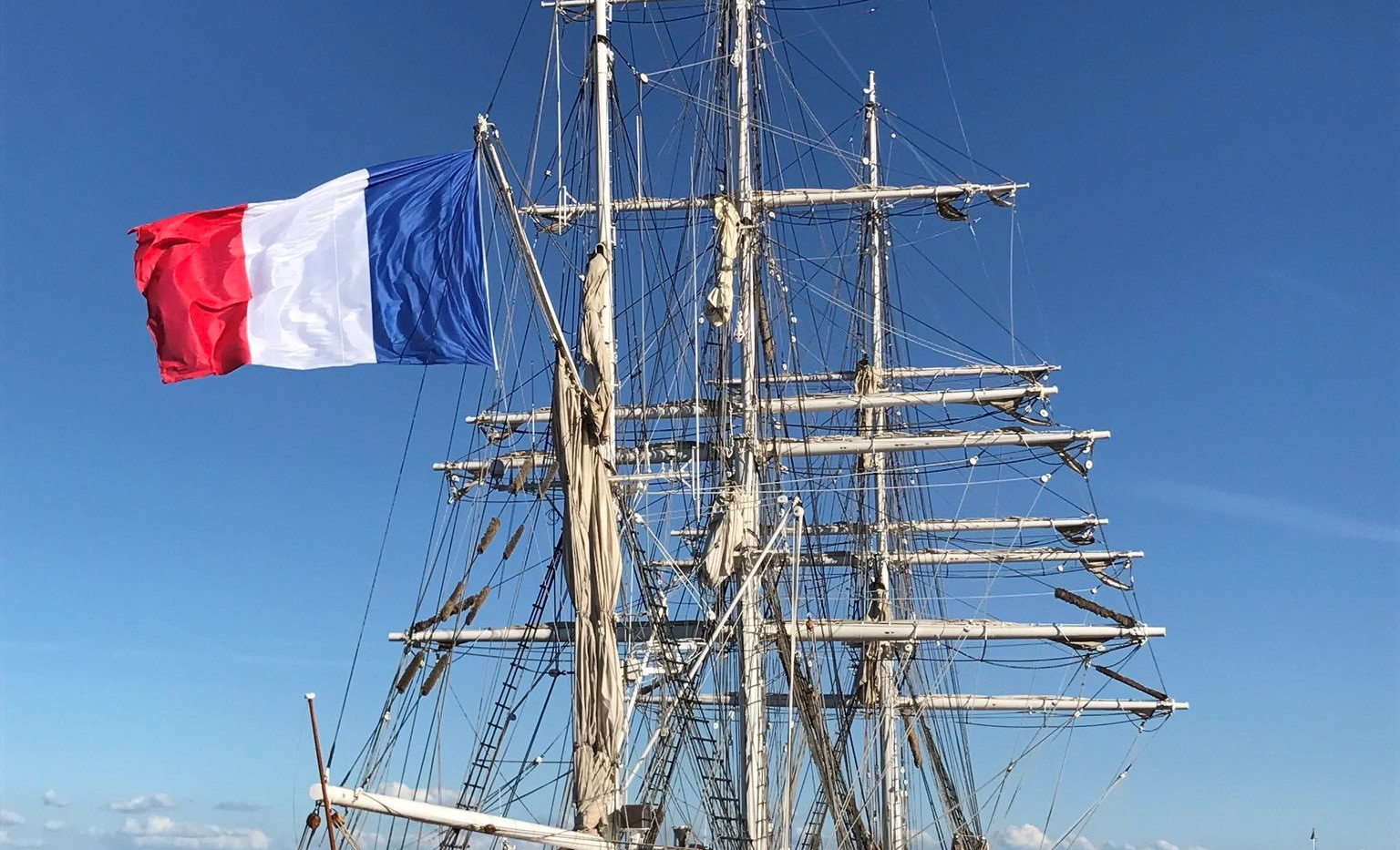 Tall Ship - Pauillac Harbour