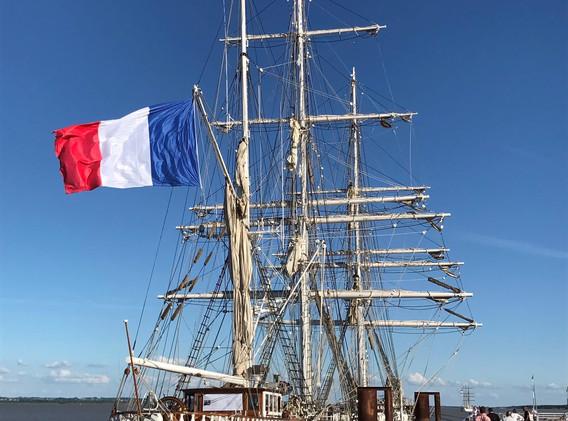 Tall Ship - Pauillac Harbour