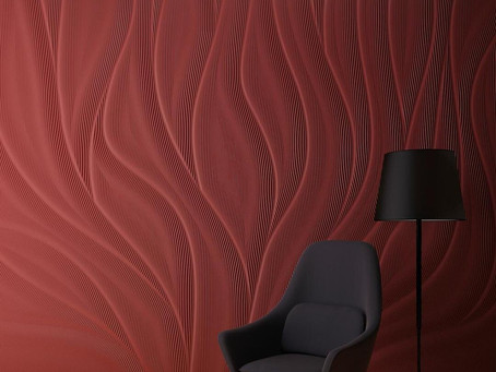 M.R. Walls — Designer Walls Using Corian® Solid Surface by Artist Mario Romano