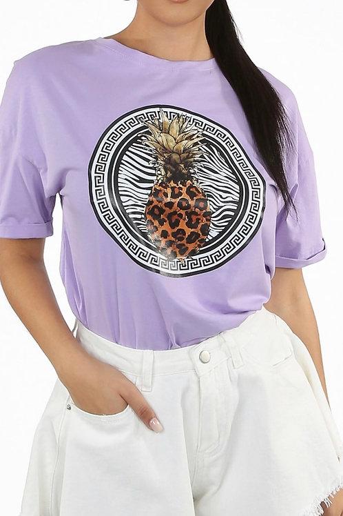 Chory Fruit Print T Shirt