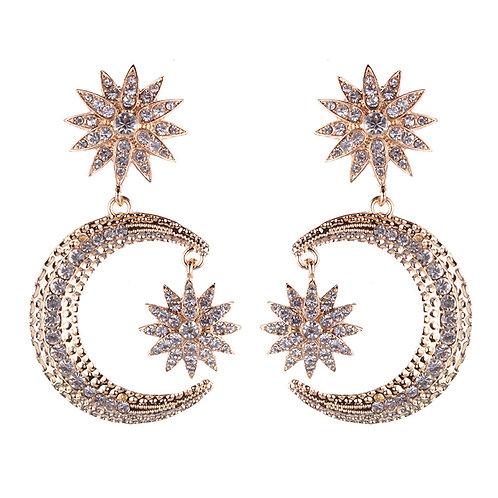Totem Diamond Earrings