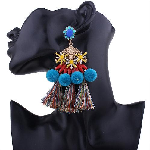Degas Folk Earrings