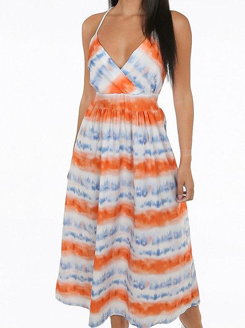 Bima Tie Dye Maxi Dress