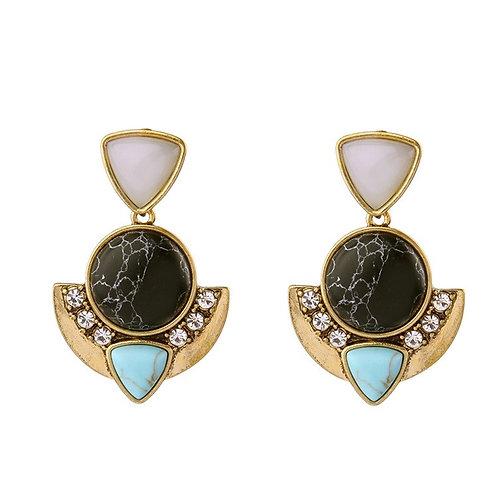 Lizzy Alloy Diamonds Earrings