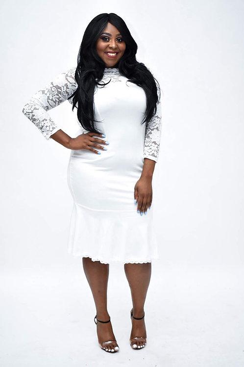Boma Lace Plus Size Dress