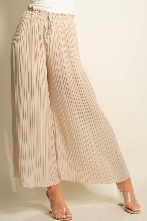 Elissa Wide Leg Plit Trousers