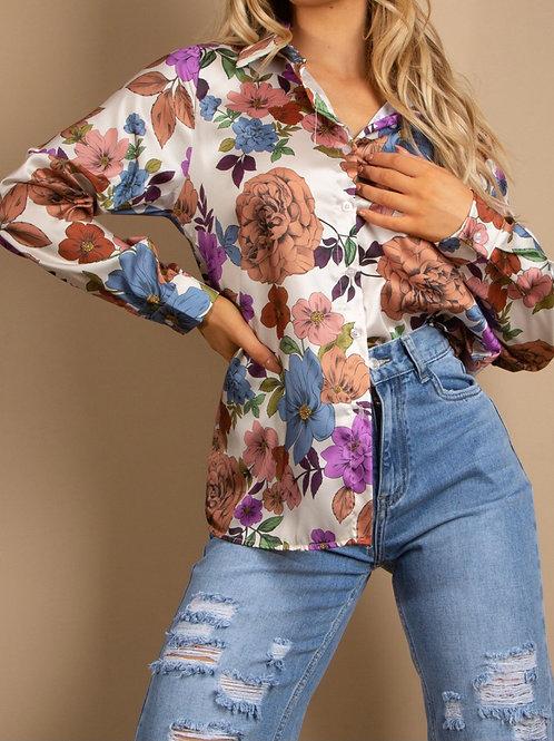 Nova Floral Print Shirt