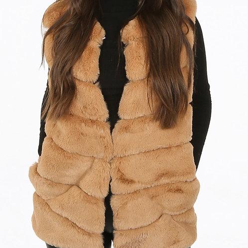 Namso Layer Faux Fur Gilet
