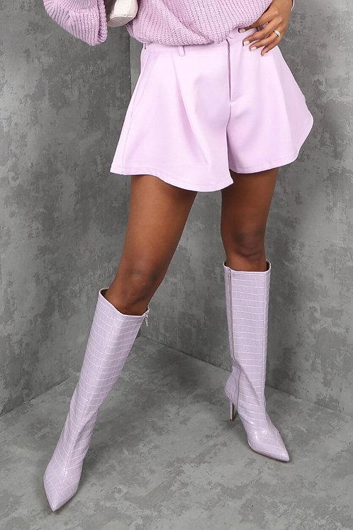 Mia Tailored Flared Shorts