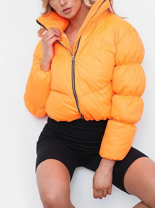 Ycee Crop Puffer Jacket