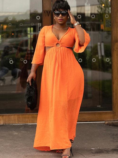 Leona Cutout Maxi Dress