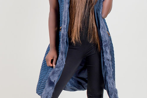 Getty Fur Lined Gilet