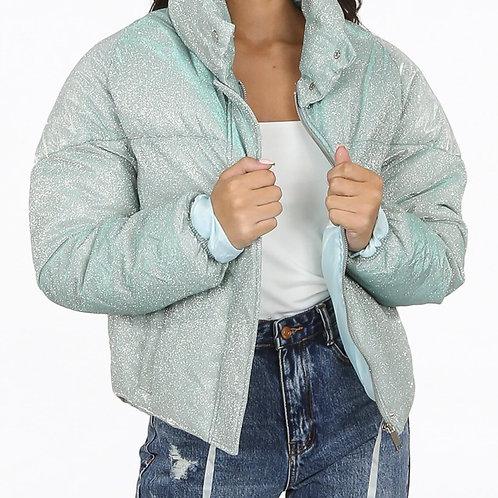 Wane Sprinkled Quilted Padded Jacket