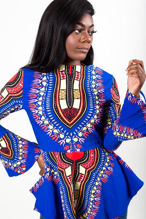 Ayo African Print Top
