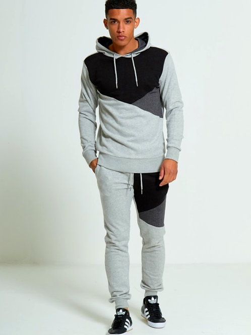 Charlie Grey Three Panel Pullover Tracksuit