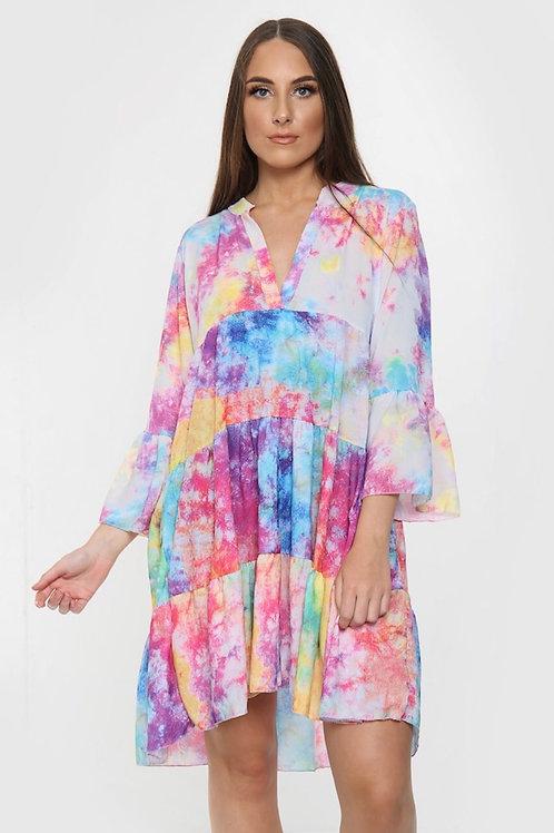 Munroe Tie-Dye Mini Dress