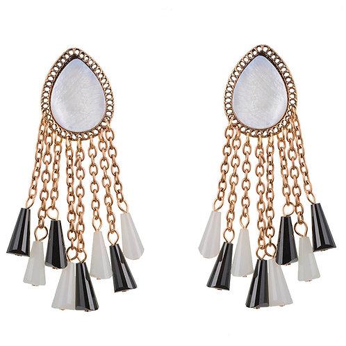 Alan Oval Earrings