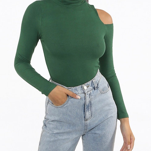 Varpie Cold Shoulder Top