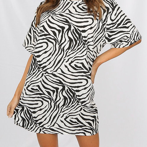 Bally Zebra Dress